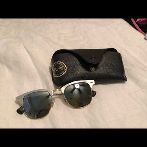 Ray Ban Mirrored Clubmasters